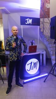 Konferansjer na pokazie mody J&M Fasion - Łódź 192