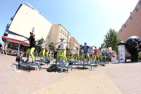Event trampolinowy Fit&Jump, ulica Piotrkowska - Łódź 61
