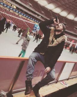 DJ KarpYou jako konferansjer na Zimowym Narodowym 206
