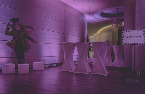 Ozdobne światło które użyliśmy do podkreślenia dekoracji tematycznych 241