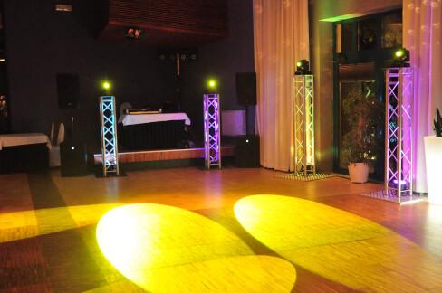 Dekoracja oświetleniem w Hotelu Eden w Rzgowie 39